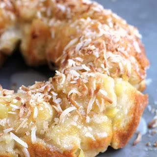 Pina Colada Monkey Bread.