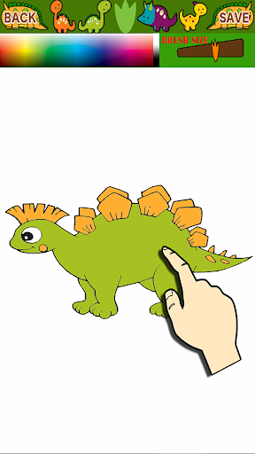 Dinosaurs Kids Coloring