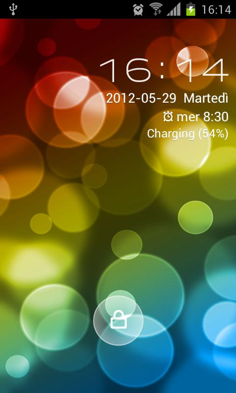 Go Locker Super Bokeh Theme- screenshot