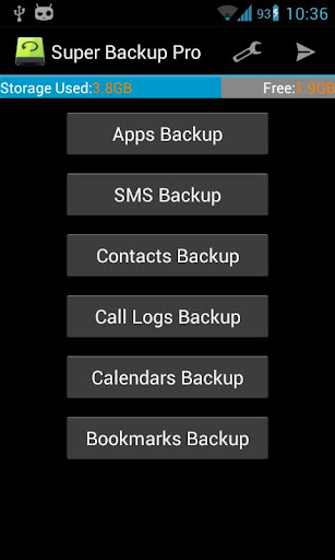 Super Backup Pro: SMS Contacts