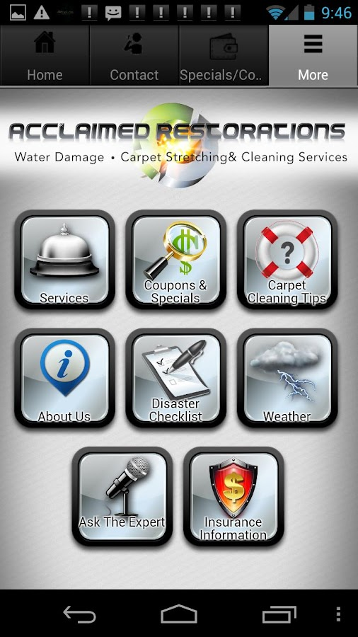 Water Damage- screenshot