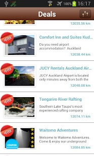 itravelNZ - travel guide - screenshot thumbnail