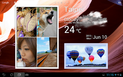 Animated Photo Frame Widget + - screenshot thumbnail