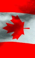 Screenshot of Canada flag free livewallpaper