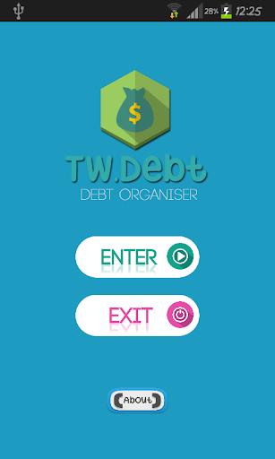 TWDebt - Debt Organiser