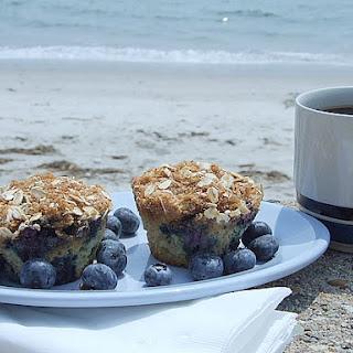 Blueberry- Cinnamon Muffins.