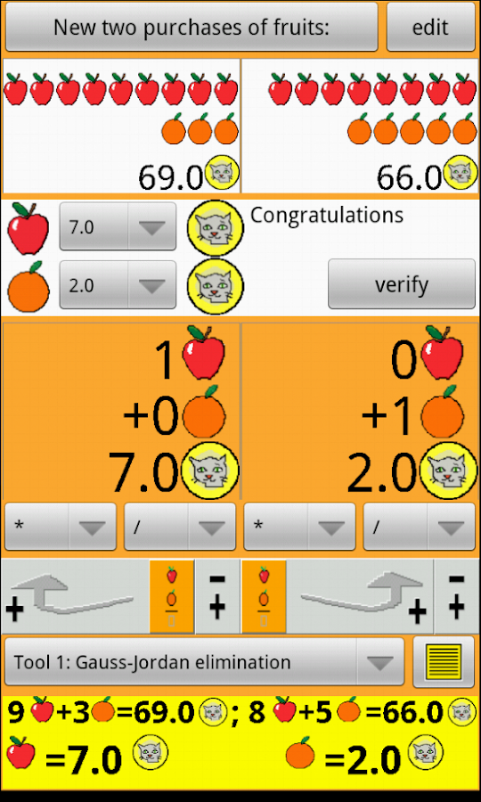 Apples and oranges 1 decimal- screenshot