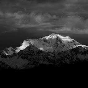 Chopta by Abhishek Ghosh - Black & White Landscapes