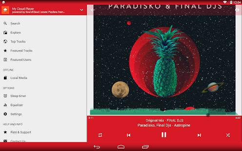 My Cloud Player for SoundCloud - screenshot thumbnail