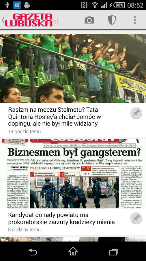 Gazeta Lubuska- screenshot