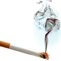 Virtual cigarette free icon
