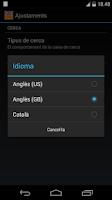 Screenshot of Offline English Catalan Dict.