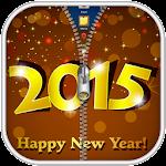 New Year 2015 Zipper Lock 10.1 Apk