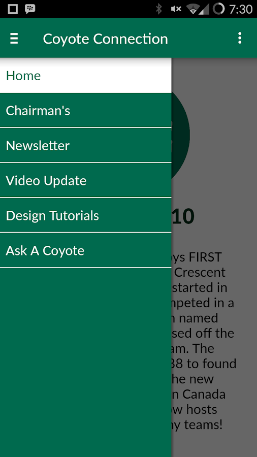 coyote connection android apps on google play. Black Bedroom Furniture Sets. Home Design Ideas