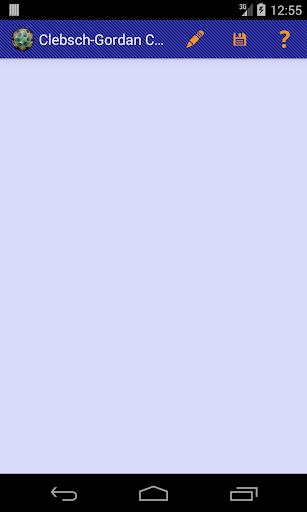 Clebsch-Gordan Coefficients DV