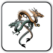 Watch dragon and tiger Widget