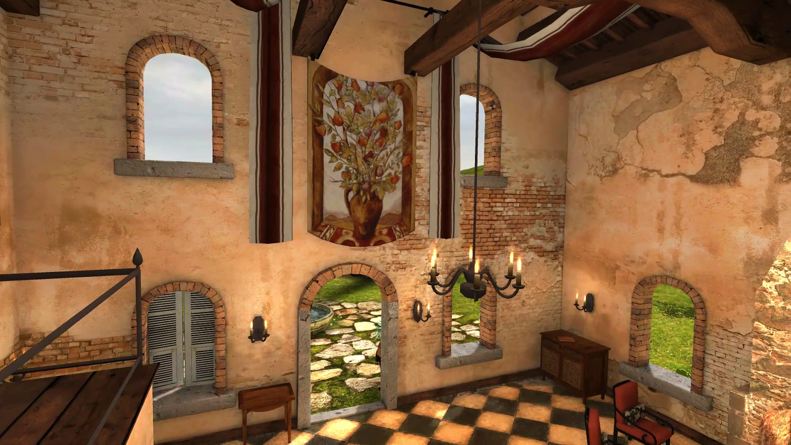 Tuscany HD VR Cardobard- screenshot