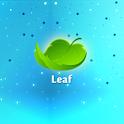 Leaf HD Christmas logo