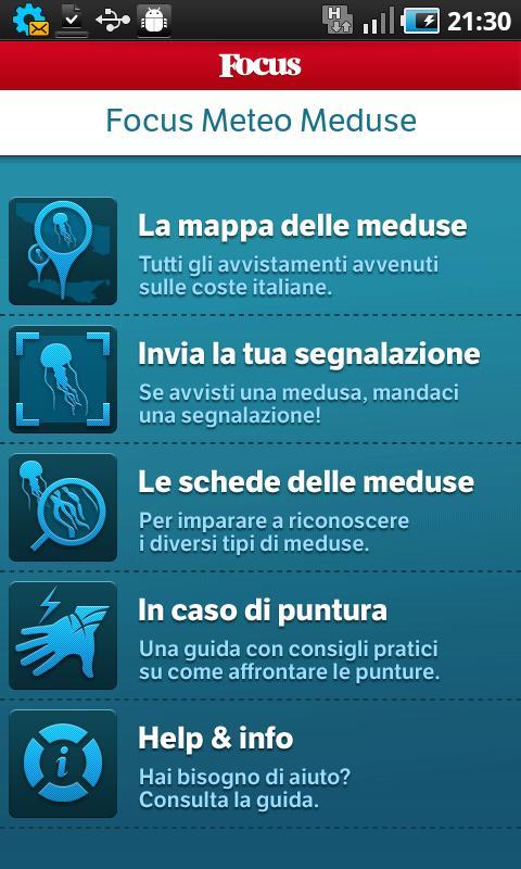 Focus Meteo Meduse- screenshot