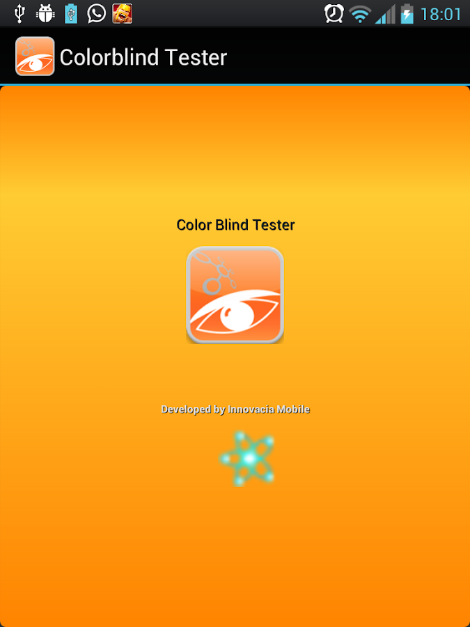 Colorblind Test- screenshot