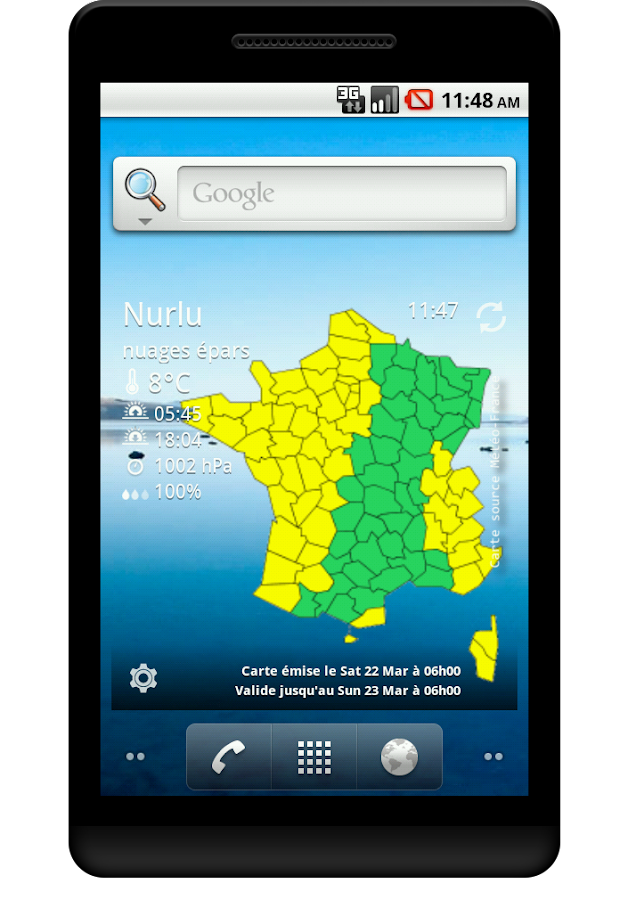 Vigilance Météo France - screenshot