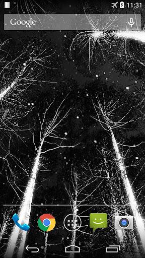 暗い雪ライブ壁紙