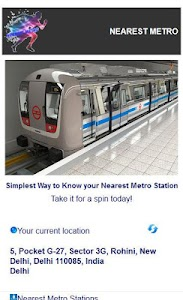 NEAREST METRO screenshot 0