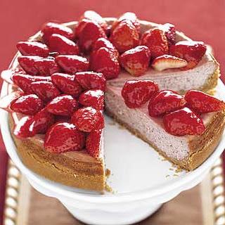 Strawberry-Strawberry Cheesecake.