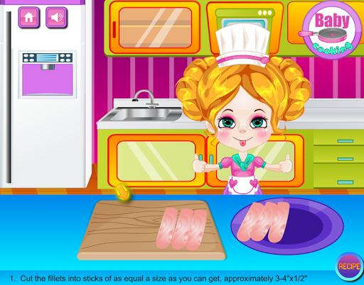 【免費休閒App】Baby Fish Sticks Cooking-APP點子