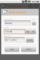 Screenshot of Money Easy