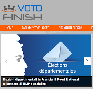 Votofinish Elezioni in Europa- miniatura screenshot