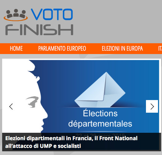 Votofinish Elezioni in Europa- screenshot