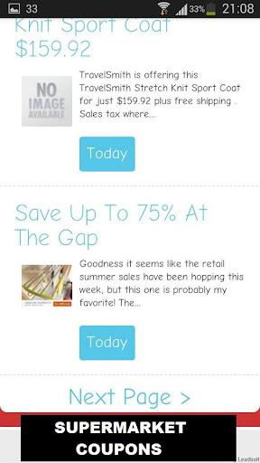 玩免費購物APP 下載Supermarket Coupons app不用錢 硬是要APP