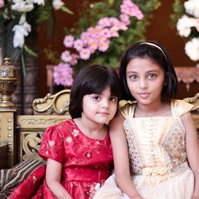 two little Princess by Shahnila Ejaz - Babies & Children Children Candids
