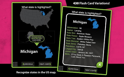 Flashcards - United States - screenshot thumbnail