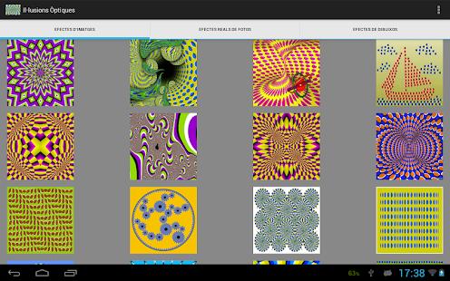 ilusiones ópticas - screenshot thumbnail