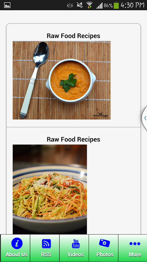Easy Healthy Recipes For You- screenshot