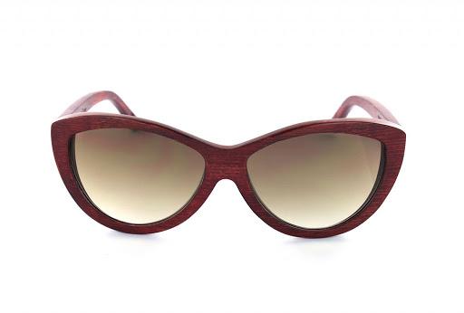 2085bcfe83 Gafas de madera Woodys Barcelona ama Rojo Marron; gafas de sol de madera woodys  barcelona