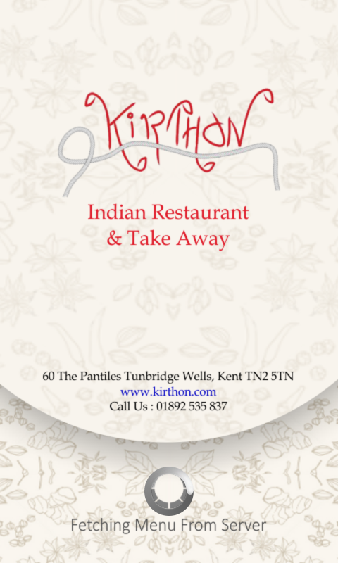 Kirthon Restaurant- screenshot