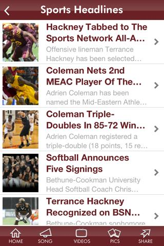 Bethune-Cookman University - screenshot