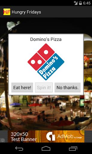 【免費生活App】Hungry Fridays Fastfood Picker-APP點子