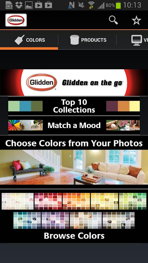 Glidden on the go™ - screenshot
