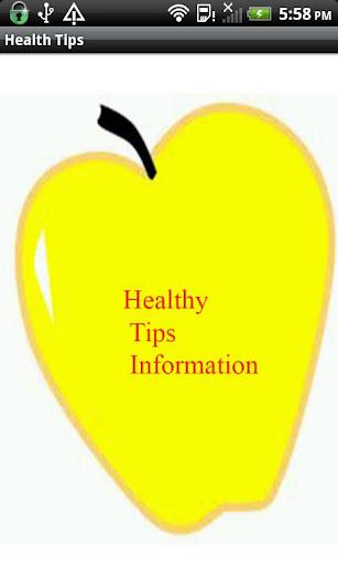Health Tips Information