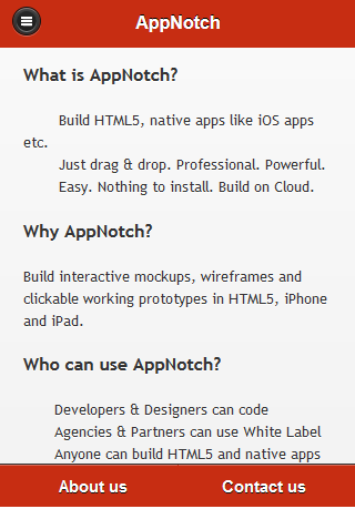 Featured AppNotch - screenshot