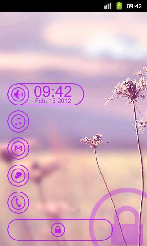 Circle - MagicLockerTheme- screenshot