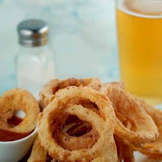 Gluten Free Onion Rings.