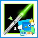 Laser Simulator & Blue Bird icon