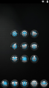 Black and ICS - Icon Pack - screenshot thumbnail