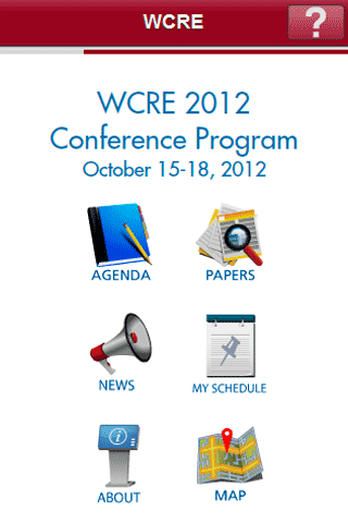WCRE - screenshot