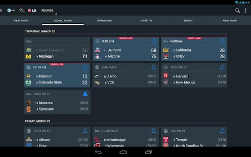 NCAA March Madness Live Screenshot 23